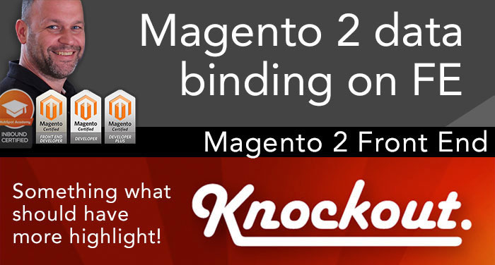 Magento 2 data binding on front end